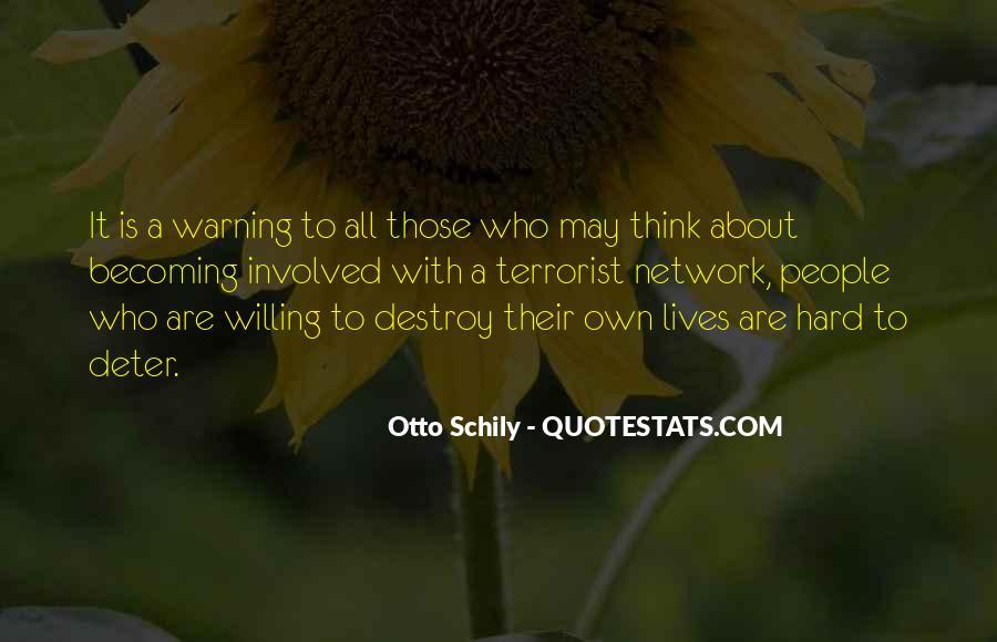 Otto Schily Quotes #296926