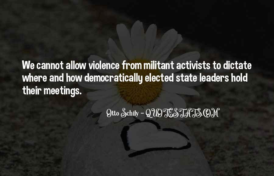 Otto Schily Quotes #649085