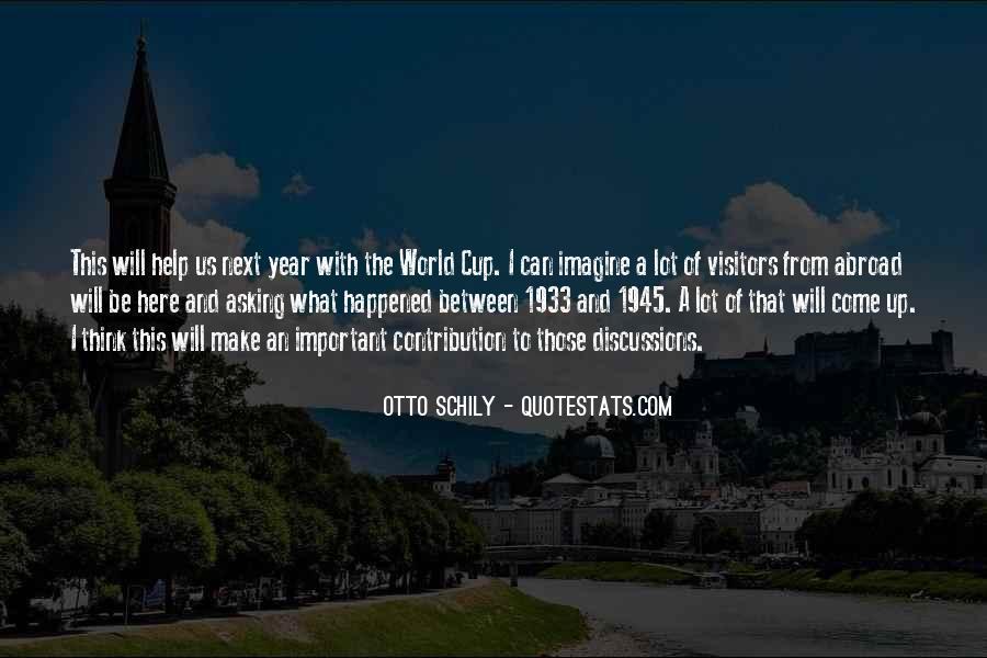 Otto Schily Quotes #976255