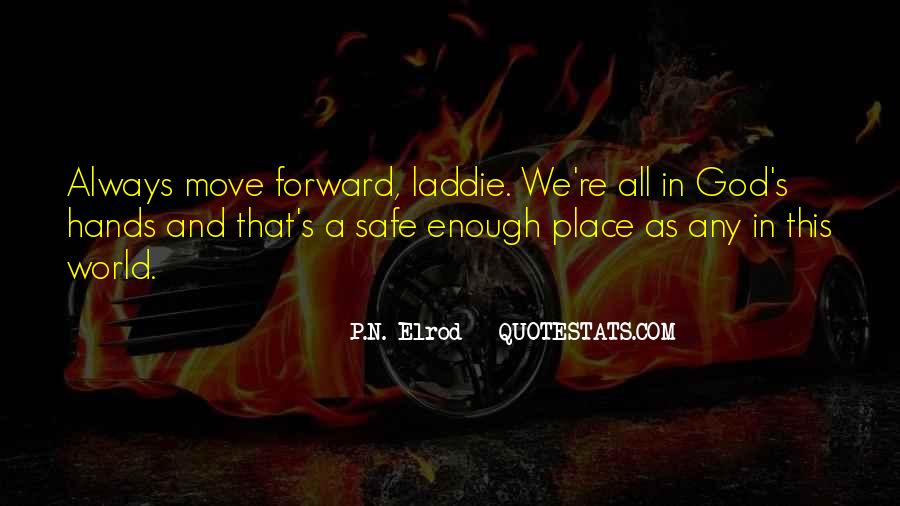 P.N. Elrod Quotes #12033