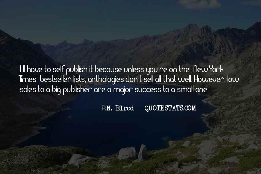 P.N. Elrod Quotes #1585220