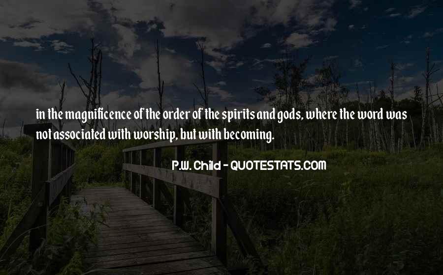P.W. Child Quotes #1614992