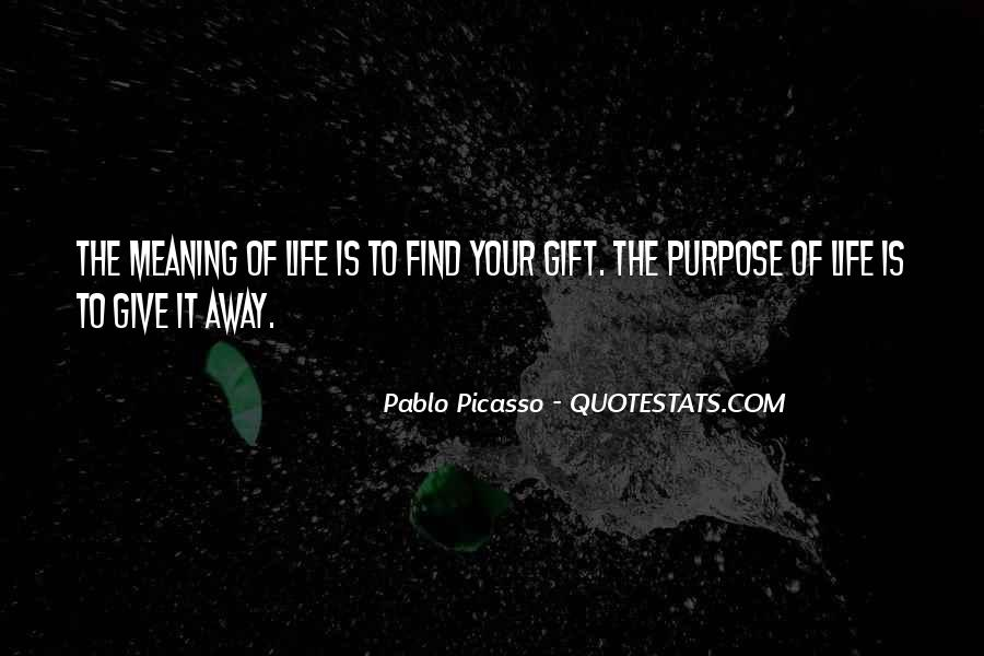Pablo Picasso Quotes Sayings
