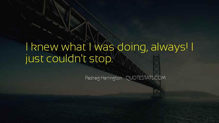 Padraig Harrington Quotes #45708