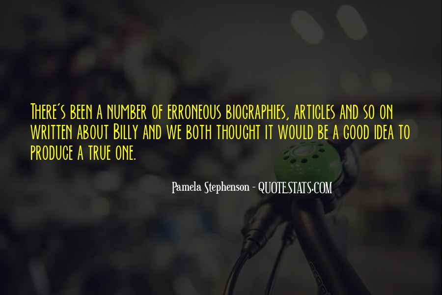 Pamela Stephenson Quotes #1400650
