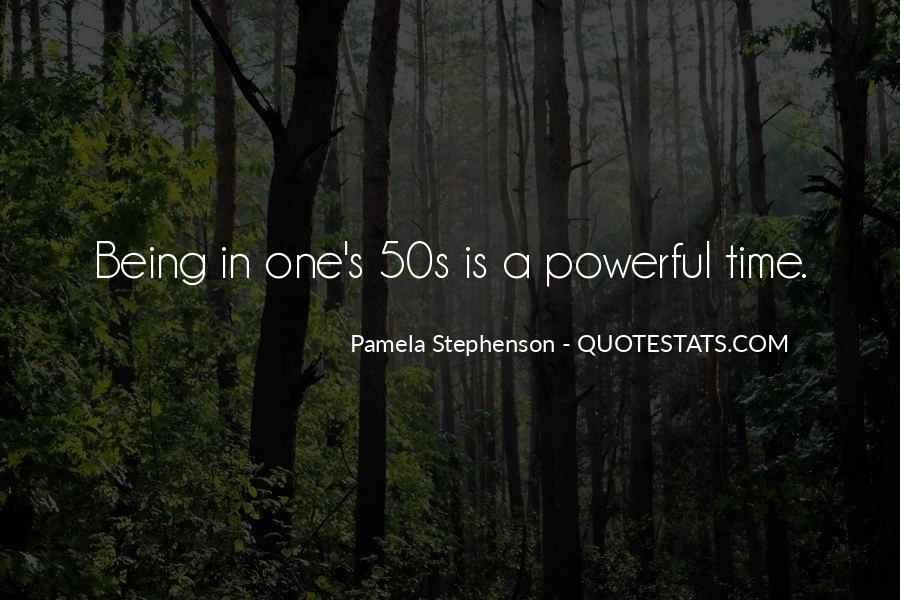 Pamela Stephenson Quotes #1405133