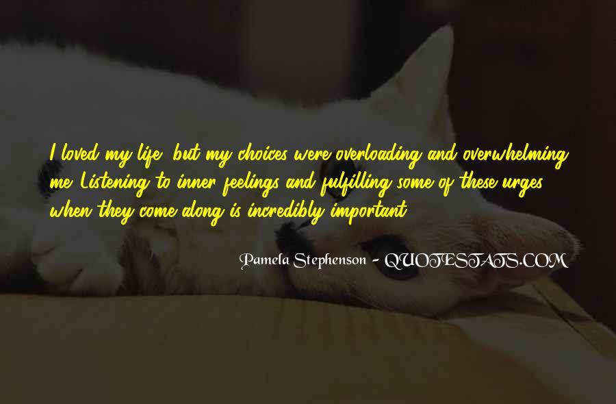 Pamela Stephenson Quotes #1524356