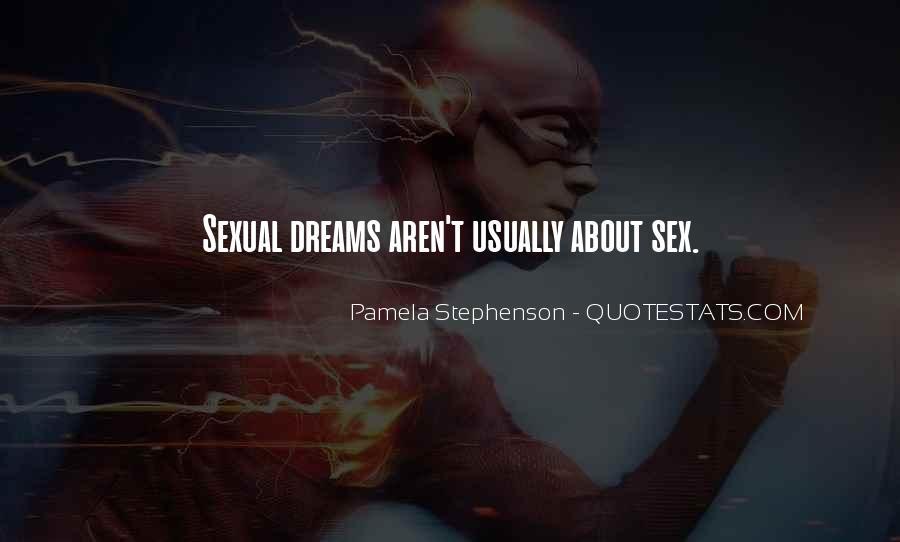 Pamela Stephenson Quotes #260559