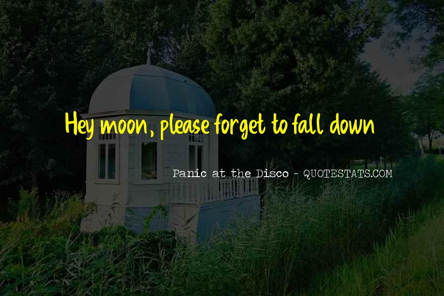 Panic At The Disco Quotes #1723682