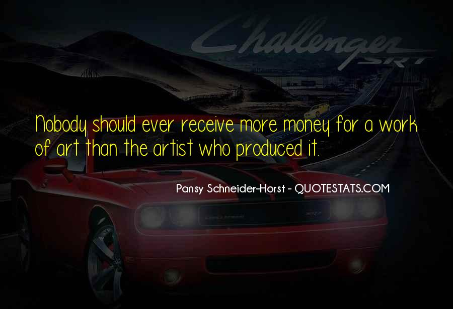 Pansy Schneider-Horst Quotes #989485