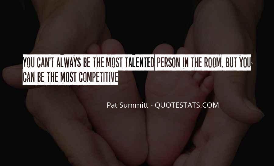 Pat Summitt Quotes #101239