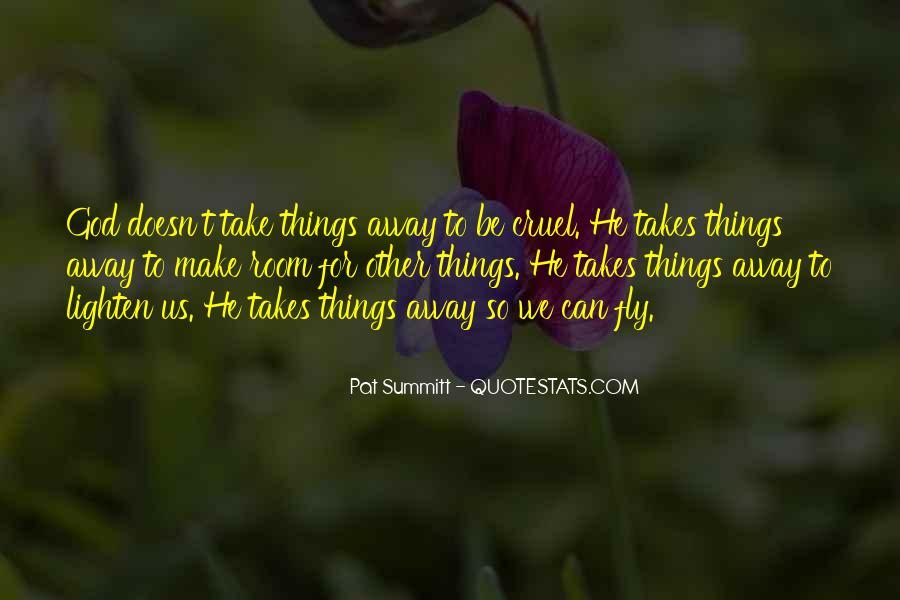 Pat Summitt Quotes #1078434