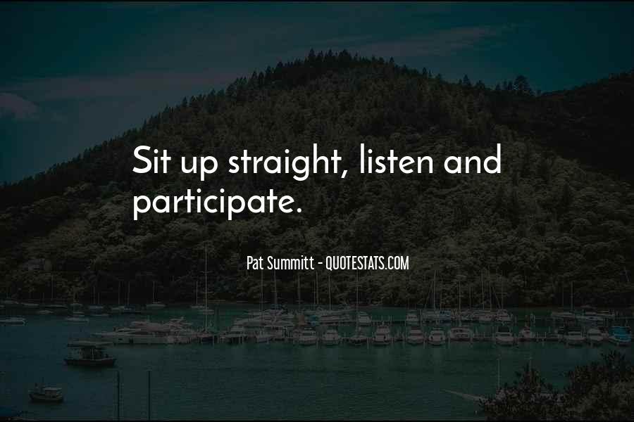 Pat Summitt Quotes #123007