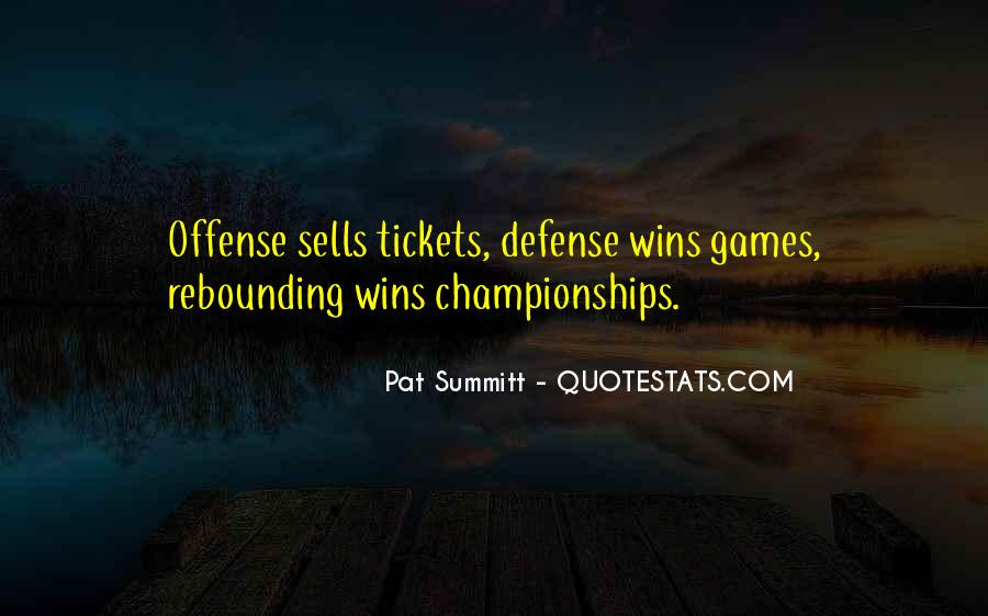 Pat Summitt Quotes #123132