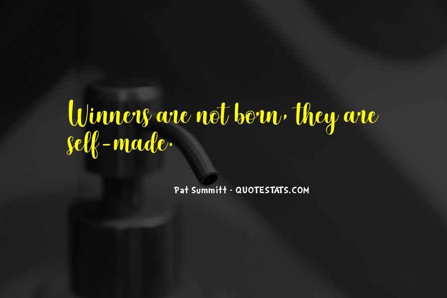 Pat Summitt Quotes #134252