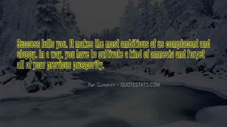 Pat Summitt Quotes #1590436
