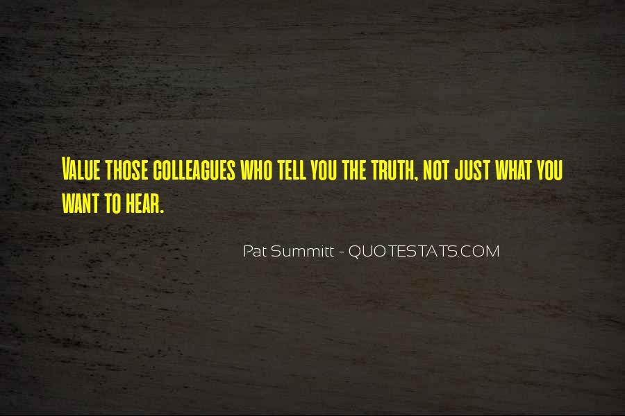 Pat Summitt Quotes #173498