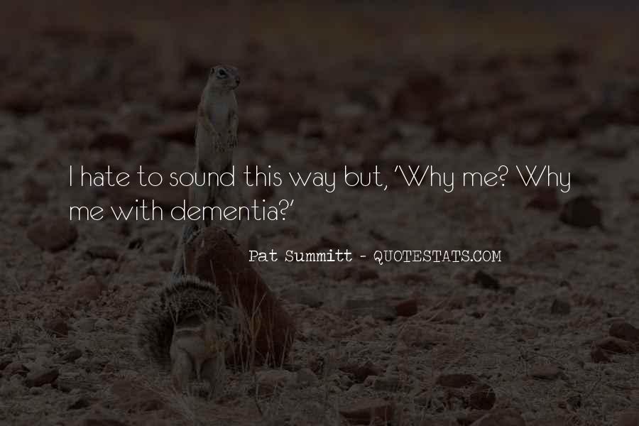 Pat Summitt Quotes #1784785