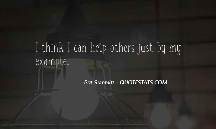 Pat Summitt Quotes #224817