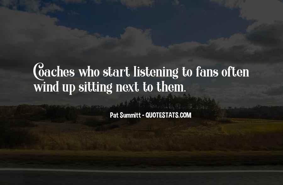 Pat Summitt Quotes #238975
