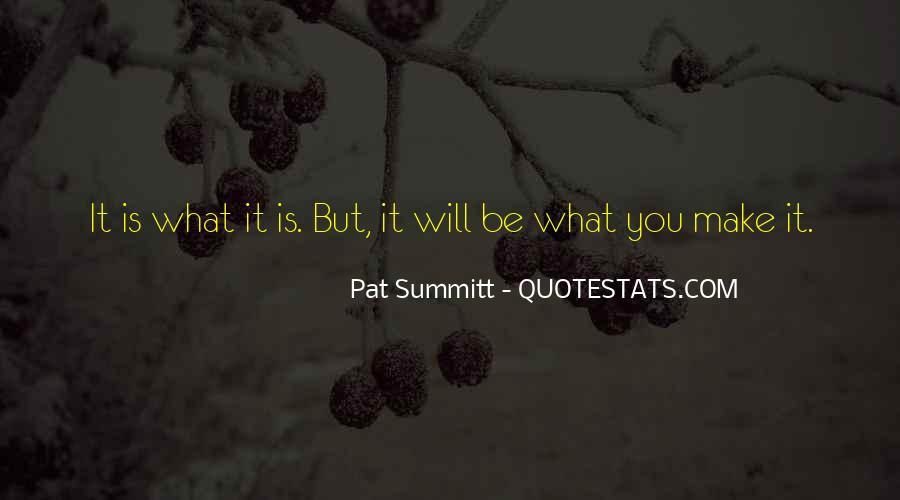 Pat Summitt Quotes #440532
