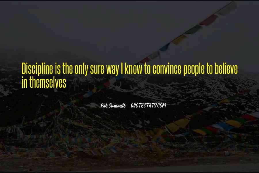 Pat Summitt Quotes #507936