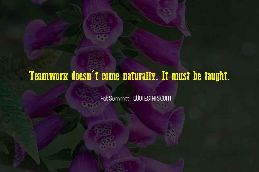 Pat Summitt Quotes #564460