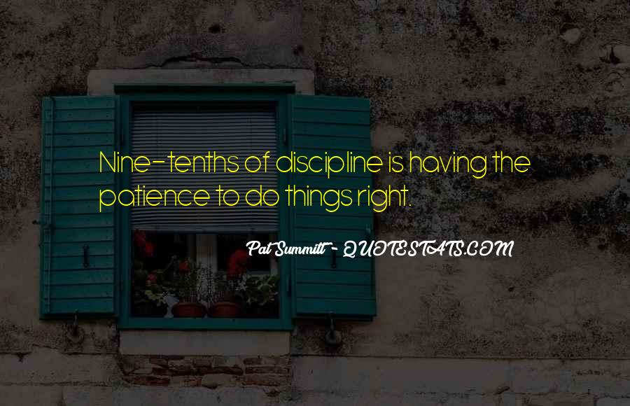 Pat Summitt Quotes #618326
