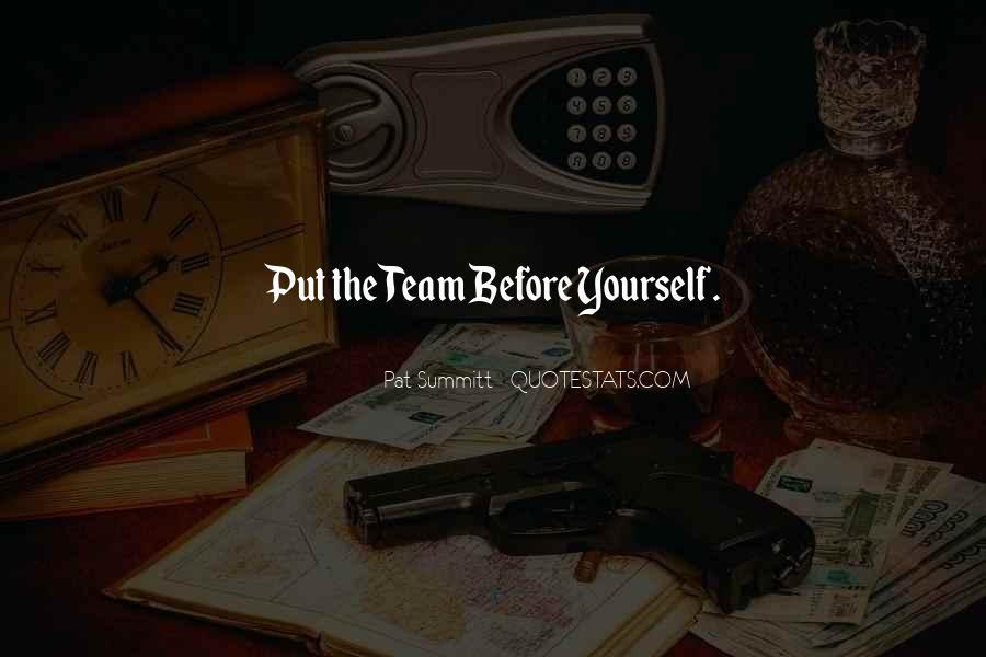 Pat Summitt Quotes #659693
