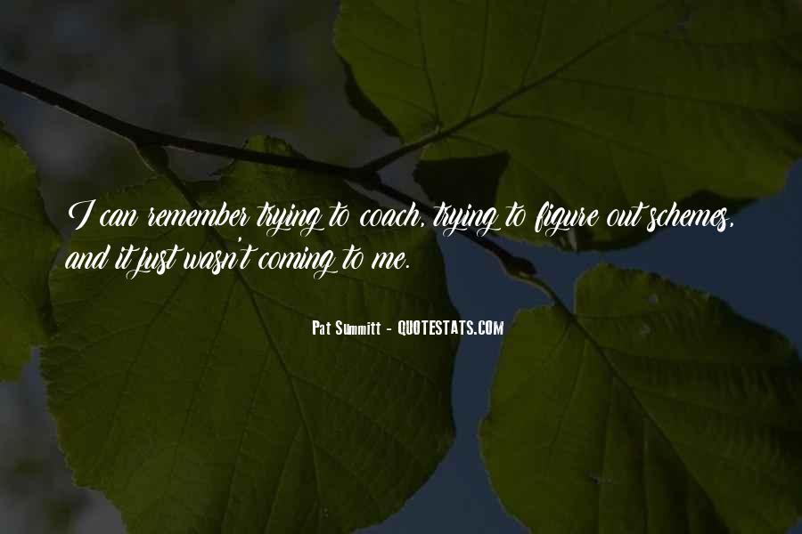 Pat Summitt Quotes #705087