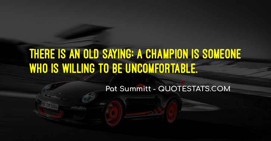 Pat Summitt Quotes #798472