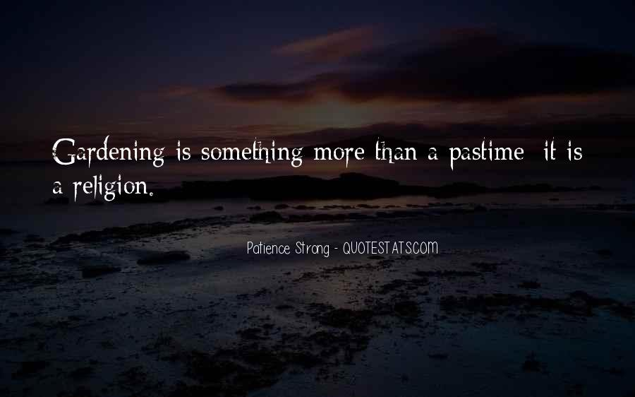 Patience Strong Quotes #911204