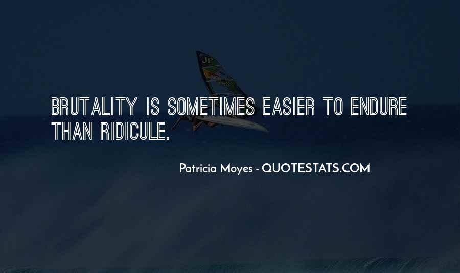 Patricia Moyes Quotes #1254552