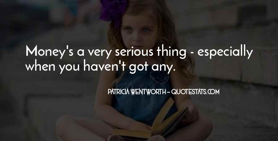 Patricia Wentworth Quotes #1025001