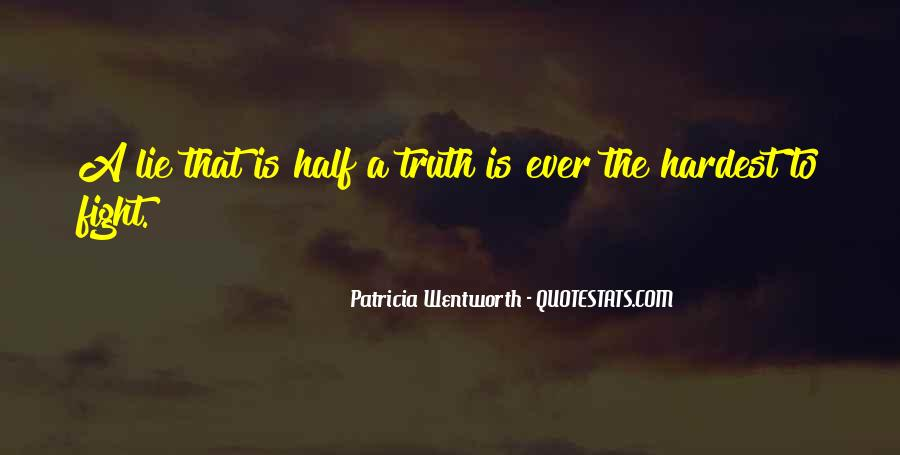 Patricia Wentworth Quotes #1184004