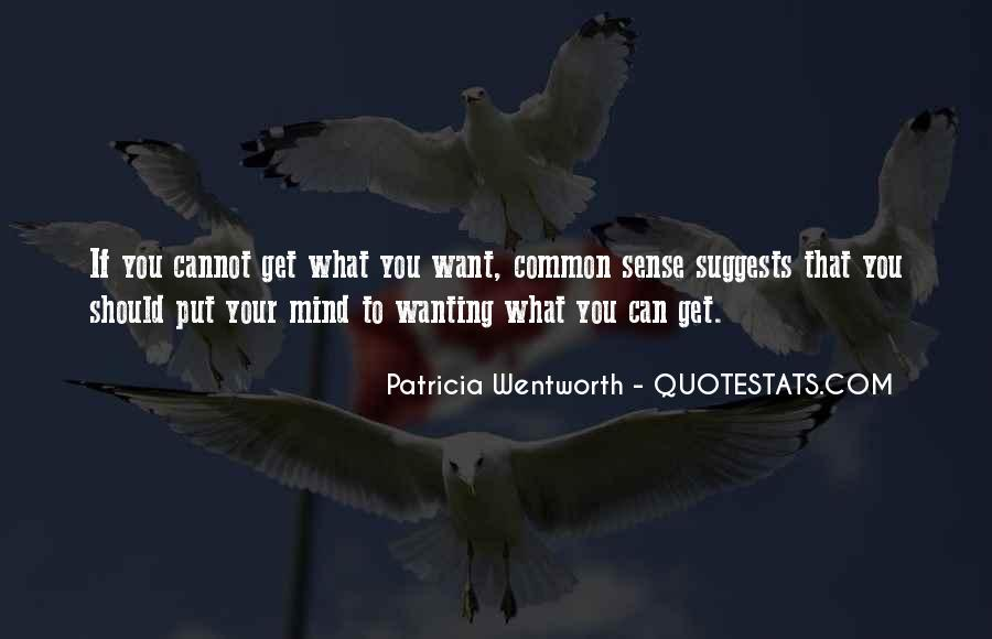 Patricia Wentworth Quotes #225279