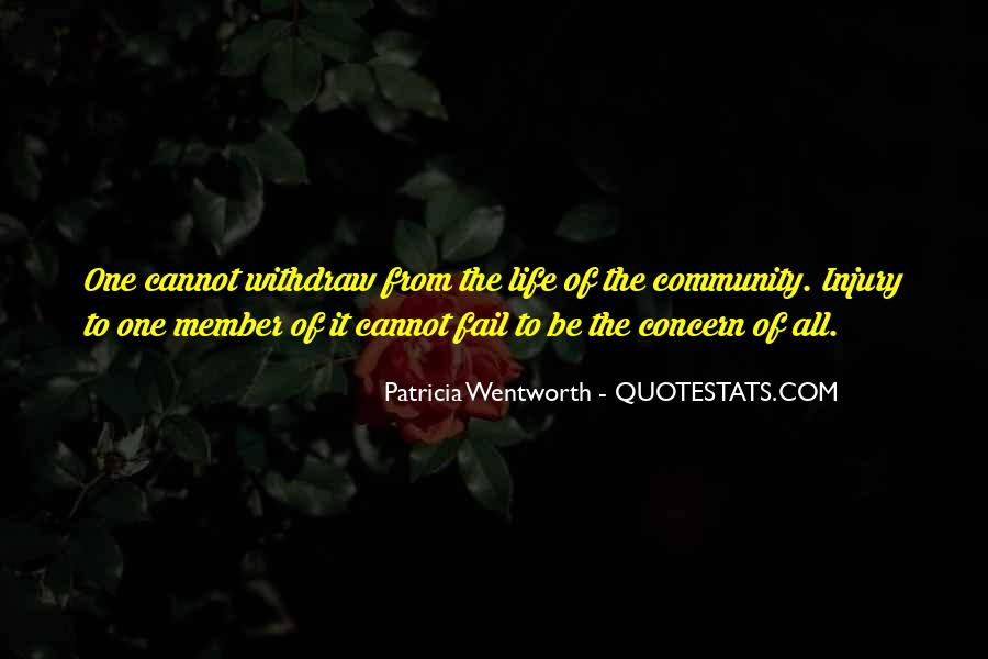 Patricia Wentworth Quotes #316632