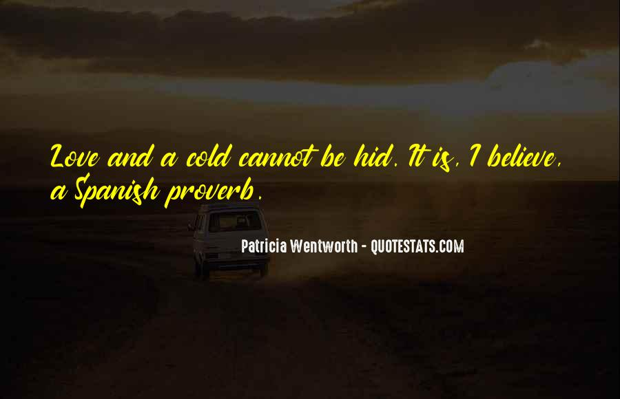Patricia Wentworth Quotes #47956