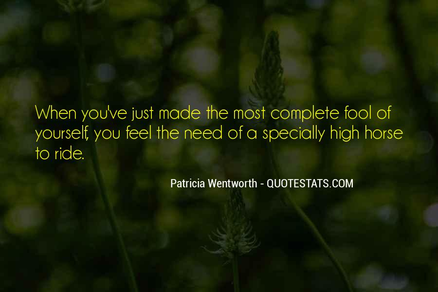 Patricia Wentworth Quotes #84876