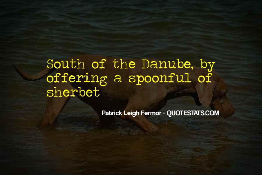Patrick Leigh Fermor Quotes #1714172