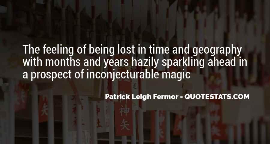 Patrick Leigh Fermor Quotes #607105