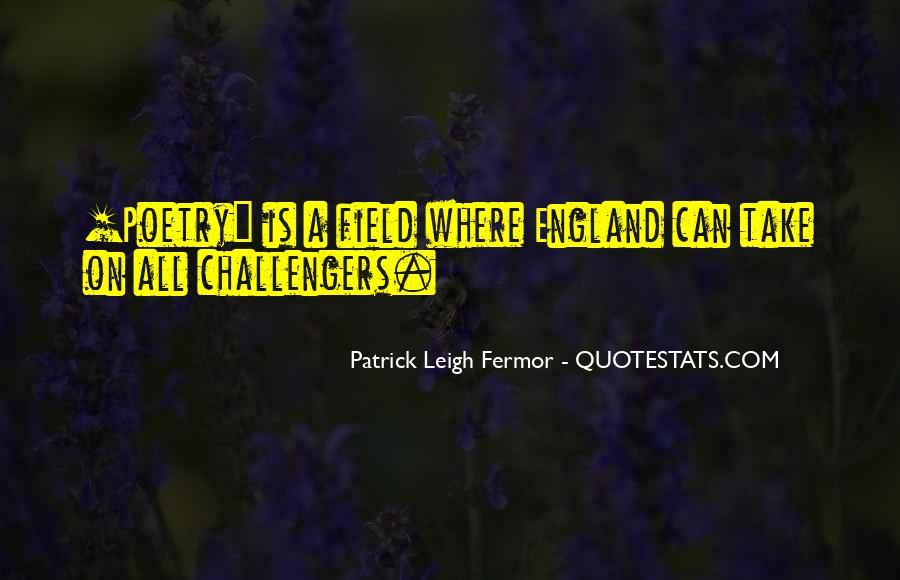 Patrick Leigh Fermor Quotes #637026