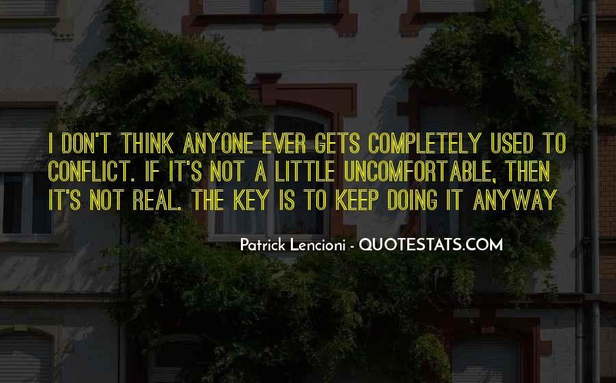 Patrick Lencioni Quotes #1101867