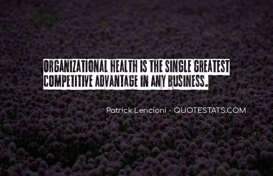Patrick Lencioni Quotes #1475724