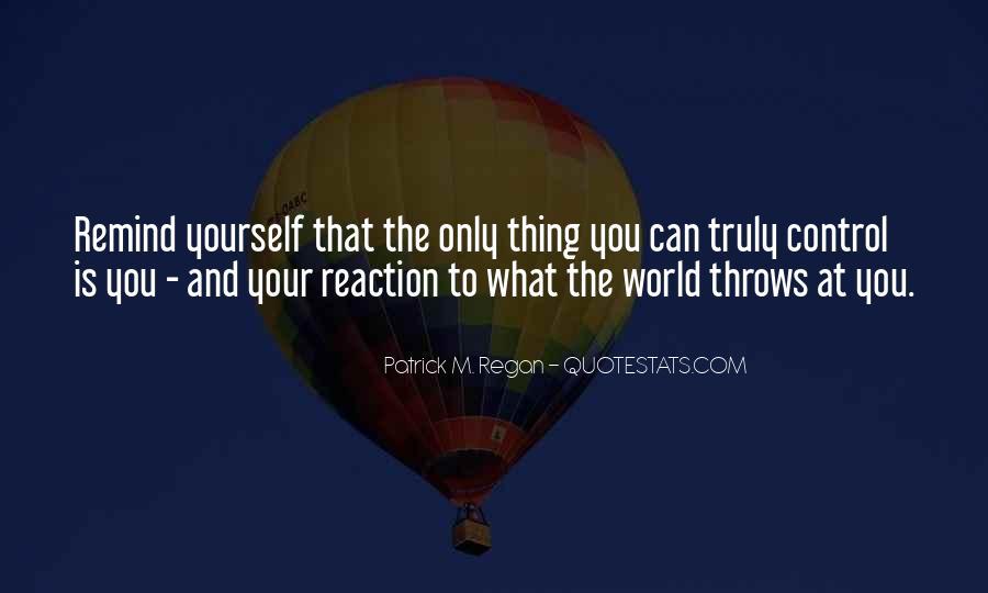 Patrick M. Regan Quotes #1355288