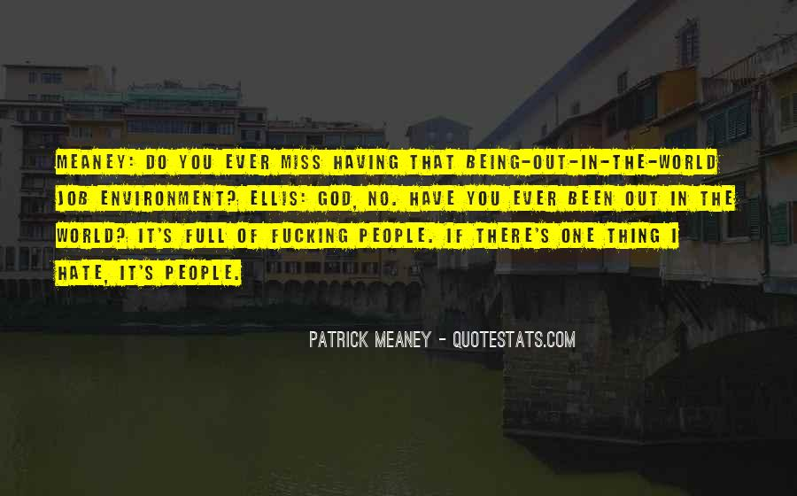 Patrick Meaney Quotes #150525