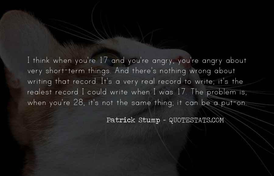 Patrick Stump Quotes #1104194
