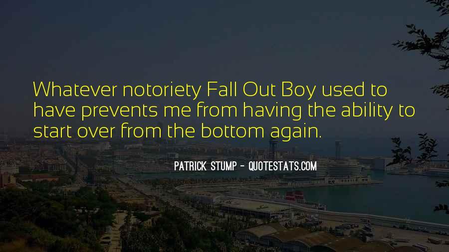 Patrick Stump Quotes #113495