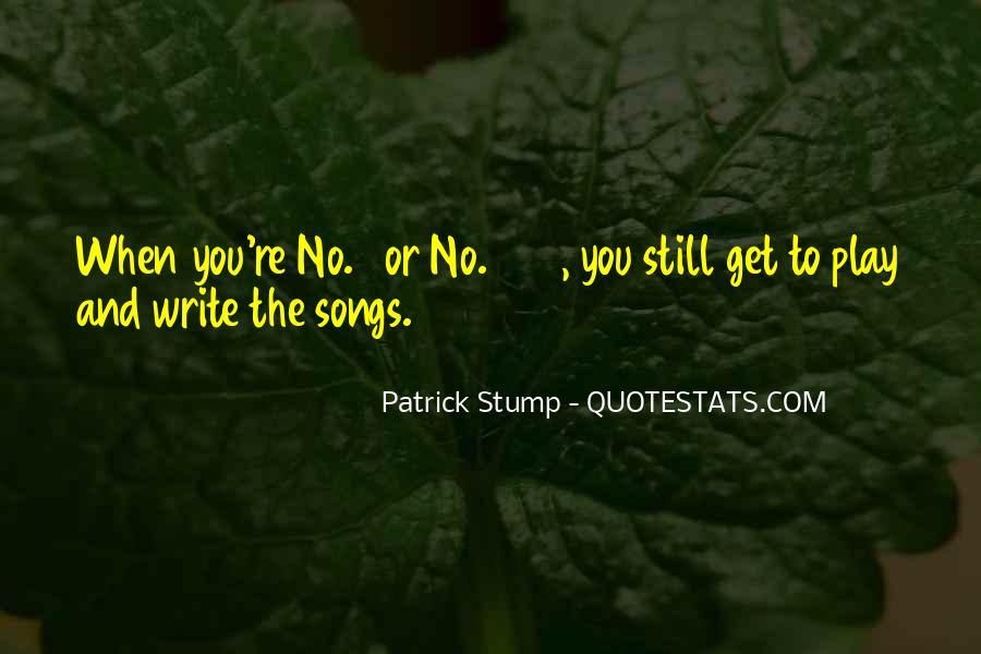 Patrick Stump Quotes #1399109