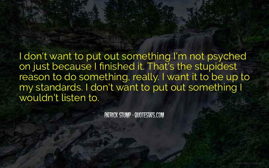 Patrick Stump Quotes #1575599
